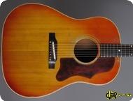 Gibson J 45 1966 Cherry Sunburst