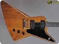 Gibson Explorer E2 1980 Natural