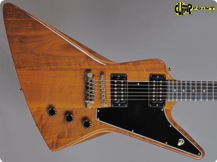 Gibson Explorer E/2 1980 Natural