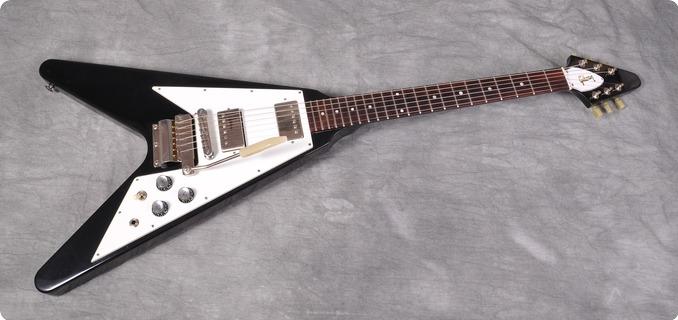 Gibson Flying V 67' Reissue Style 1993 Black