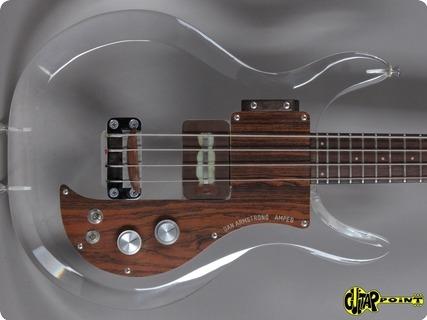Dan Amstrong / Ampeg Lucite Bass 1970 Plexi Glas