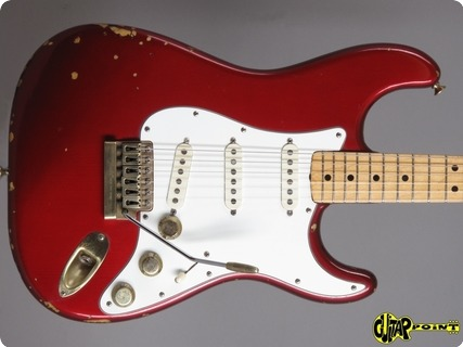 Fender Stratocaster 1981 Candy Apple Red