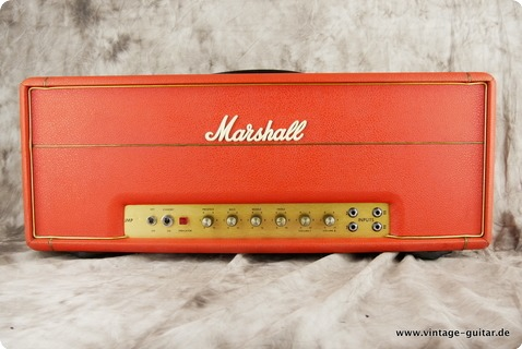 Marshall Super Bass 100 1973 Red Levant