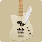 Liuteria Garage Made Kamikaze Bass Vintage White