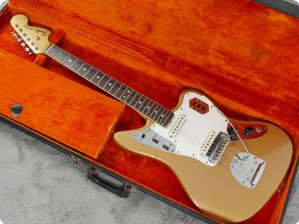 Fender Jaguar 1966 Firemist Gold