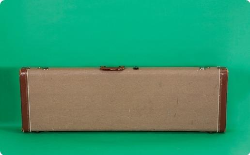 Fender Bass Vi Case 1963 Brown