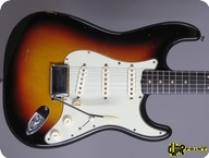 Fender Stratocaster 1962 3 tone Sunburst