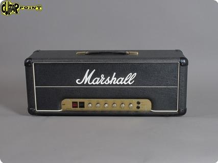Marshall 2204 Master Model 50w Mk2 Lead 1980 Black Levant