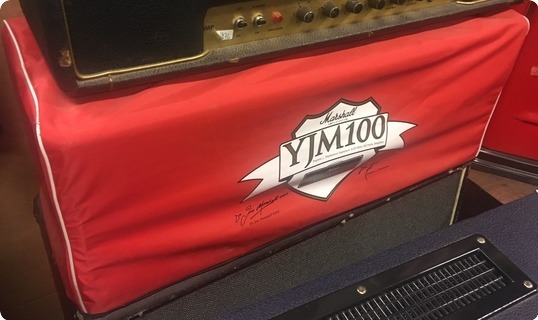 Marshall Yjm 100 Watt Top.yngwie Malmsteen Signature Model.limited Edition. Black