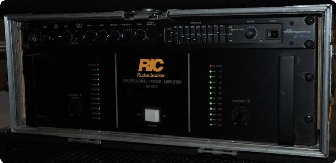 Ampeg / Rickenbacker Svt Pre & Ra 600 Power Amp.