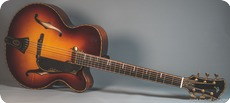 Jrss Guitars Baritone Archtop Sunburst