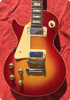 Gibson Les Paul Deluxe Lefty 1972 Cherry Sunburst