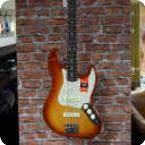 Fender LTD Light Ash American Professional Jazz Bass 2019 Sienna Sunburst