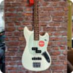 Fender-Mustang PJ-2019-Olympic White