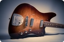 Husemoen Guitars Norwegian Wood Series J Style Sunburst