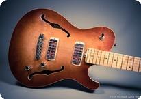 Husemoen Guitars Norwegian Wood Series Norseman Sunburst