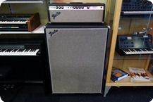 Fender Fender Bassman 100 Head And Cabinet 70s EXPORT Model Silverface