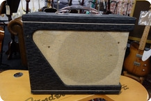 Gretsch-Gretsch 6163 Executive 1963 Vintage Tube Amplifier 220 Volt EU Version-Black Tolex