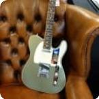 Fender American Elite Telecaster 2018 Satin Jade Pearl Metallic