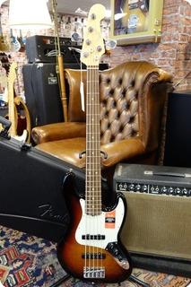 Fender Fender American Pro Jazz Bass V Rosewood Fingerboard 3 Color Sunburst 2019 3 Color Sunburst
