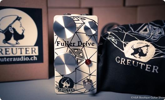 Greuter Audio Fuller Drive Black On White