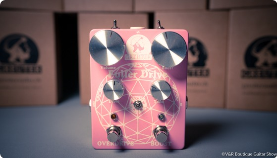 Greuter Audio Fuller Drive With Boost White On Pink