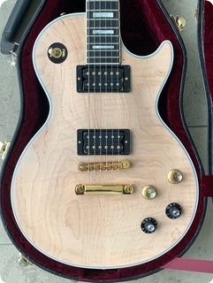 Gibson Mick Ronson Tribute Les Paul Custom 2011 Natural/black