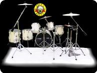 Tama Drums Artstar II 1988 Pearl White