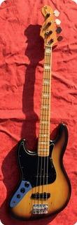 Fender Jazz Bass Lefy 1976 Sunburst