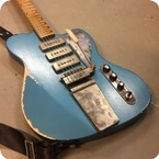 Vuorensaku Guitars Bluebird 2017 Pelham Blue