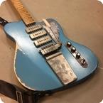 Vuorensaku Guitars Bluebird 2017 Pelham Blue