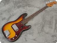 Fender-Precision Bass-1965-Sunburst