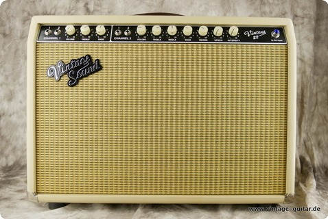 Vintage Sound Amp Vsa 22 2015 Blonde