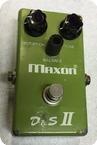 Maxon DS II Distortion Sustainer 1978 Green Box