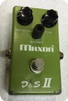 Maxon DS II Distortion Sustainer 1978 Green Box
