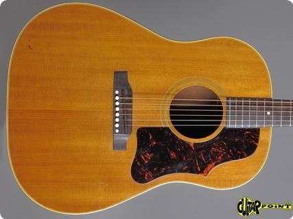 Gibson J 50 1963 Natural