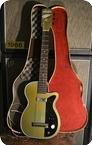 Harmony Guitars Stratotone Newport 1954 Green Metallic
