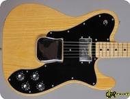 Fender-Telecaster Custom-1978-Natural