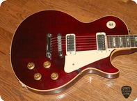 Gibson Les Paul Deluxe GIE1185 1976 Wine Red