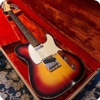 Fender-Custom Telecaster-1963-Sunburst