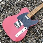 Fender Custom Shop 20th Anniversary No Caster 2016 Fiesta Red