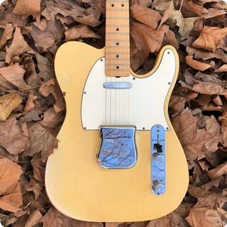 Fender Telecaster Stunning Flamed Neck 1968 Blonde