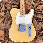 Fender-Telecaster Stunning Flamed Neck-1968-Blonde