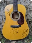 C. F. Martin & Co-D18 DC David Crosby Signature Edition-Natural