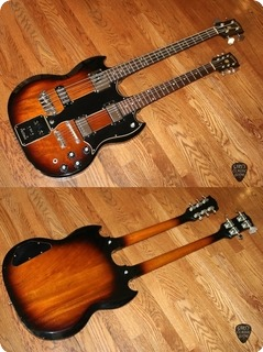 Gibson Ebs 1250     (gie1189)  1968 Tobacco Sunburst