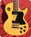 Gibson-LES PAUL SPECIAL Reissue 55-1977-TV Yellow