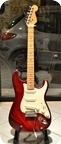 Fender Am Standard Stratocaster 1996 Translucent Cherry Red