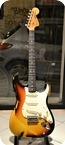 Fender-Stratocaster Custom Shop Relic 1969-2006-Sunburst