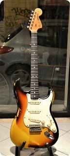 Fender Stratocaster Custom Shop Relic 1969 2006 Sunburst