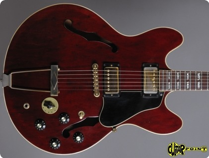 Gibson Es 345 Td Stereo 1977 Winered